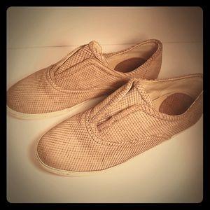 🔥Frye Mindy Sneakers in Dusty Rose/Tan size 8